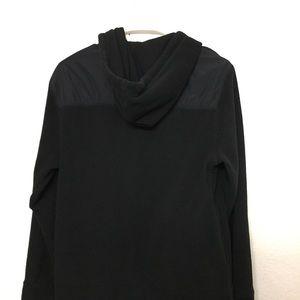 Black Hoodie Athletech Jacket